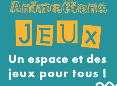 Animations jeux au quartier des capucins de avril à juin !