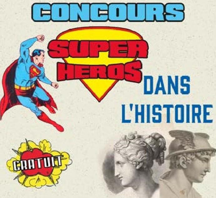 Concours – Création de couverture de comics