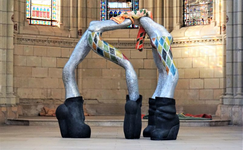 Exposition : These boots are made for walking par Elsa Sahal