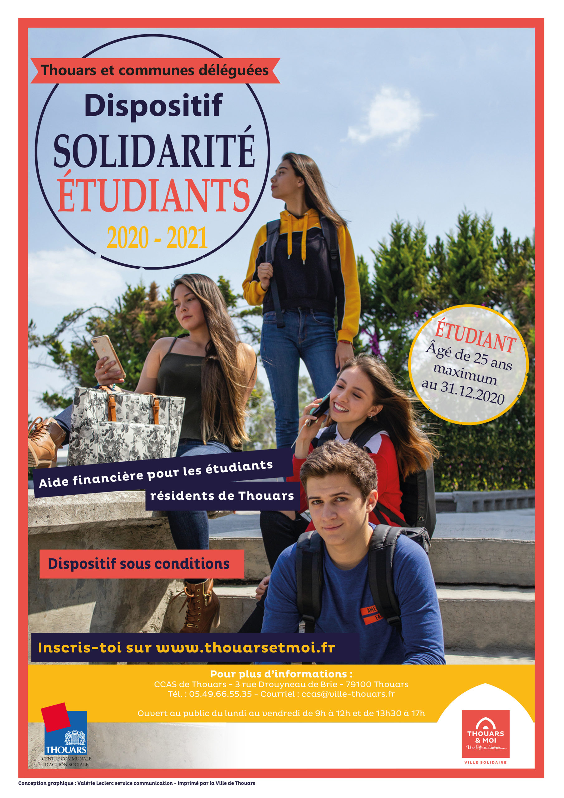 Dispositif solidarité Étudiants de Thouars
