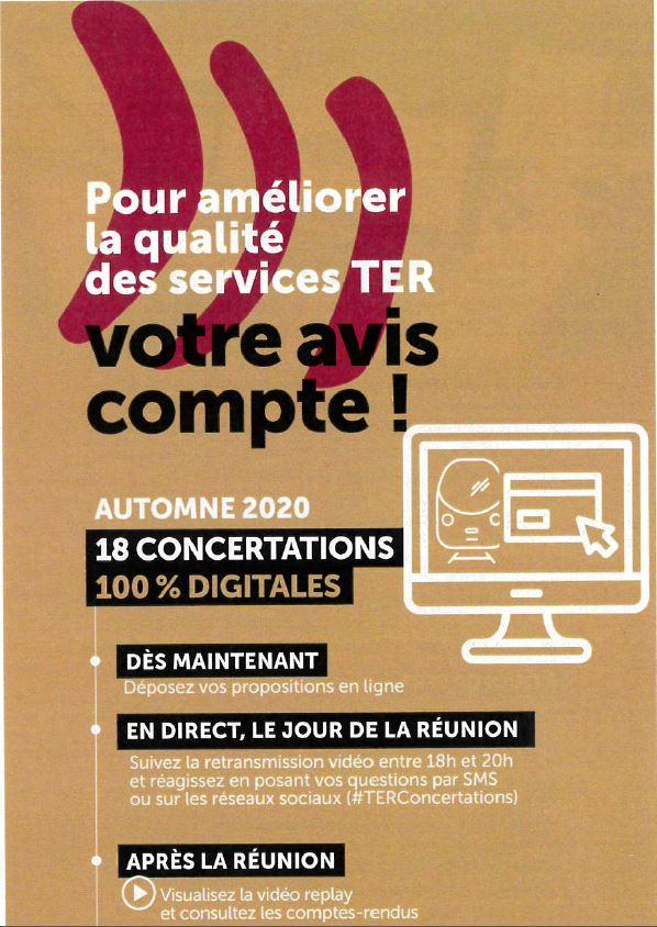 TER : Concertation
