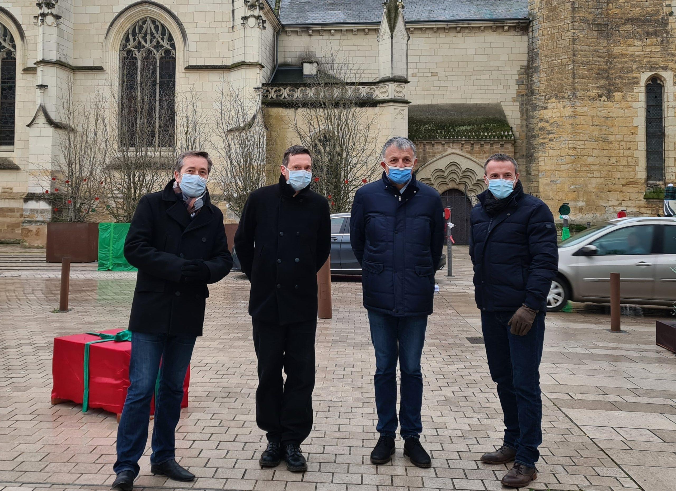 Le nouvel Architecte départemental des Bâtiments de France, Jean RICHER,  était en visite à Thouars le 5 janvier.