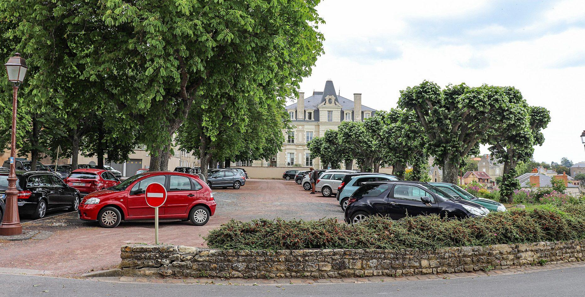 Parking en Travaux