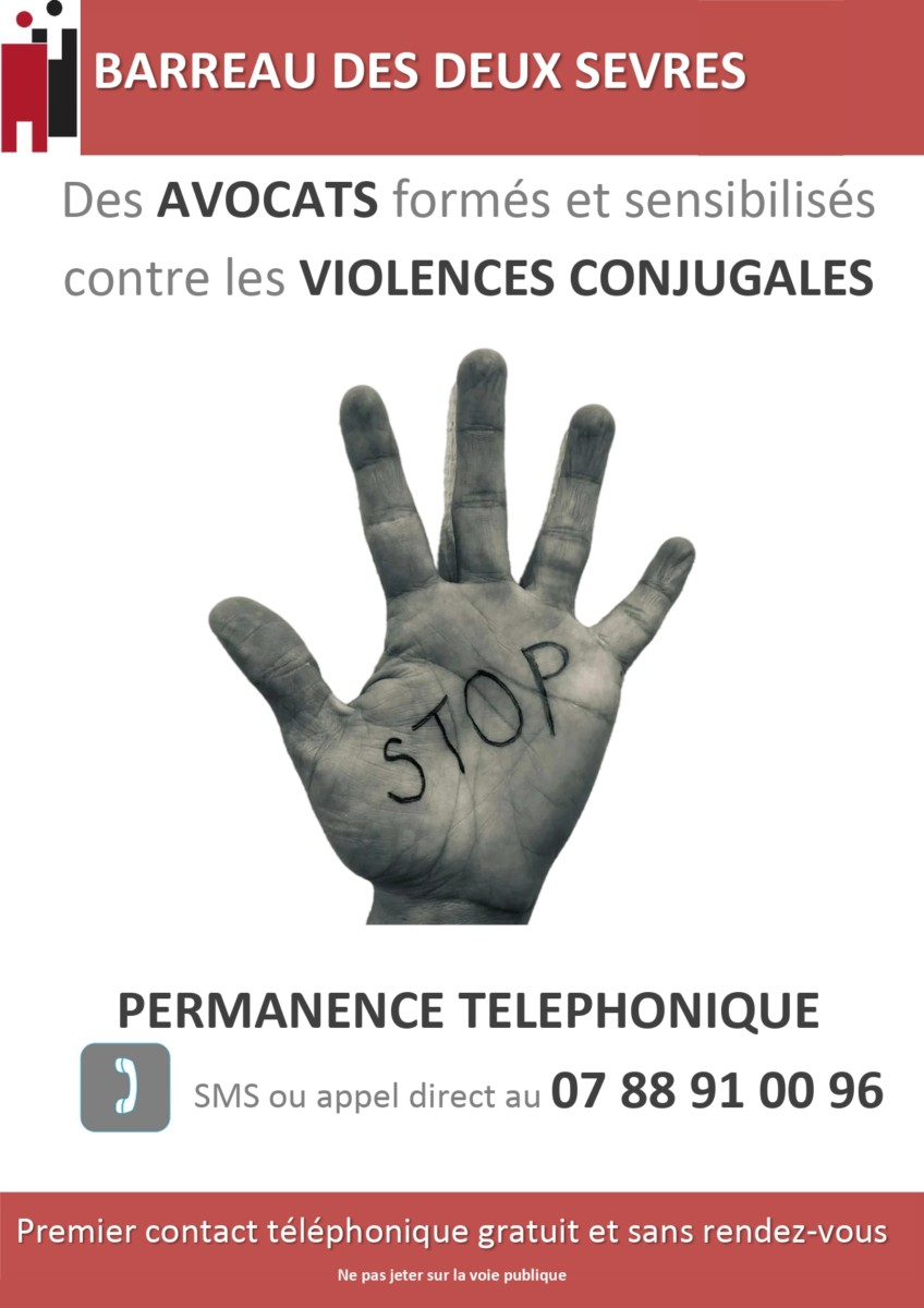 Une permanence contre les violences conjugales