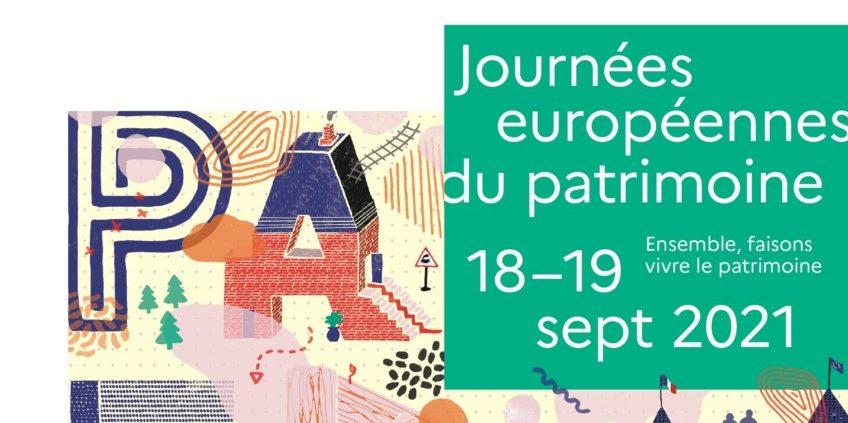 Journée Européenne du Patrimoine 2021 – Le Programme