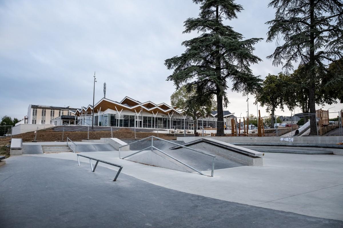 Fermeture temporaire du skatepark