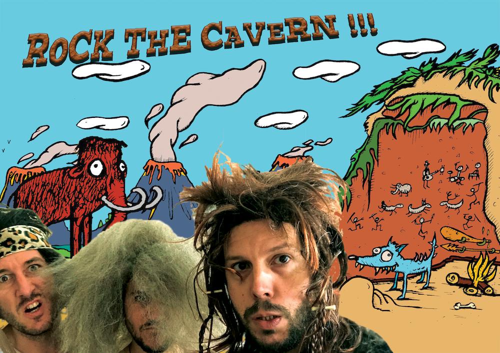 Rock The Cavern – Un spectacle pop/rock préhistorique !
