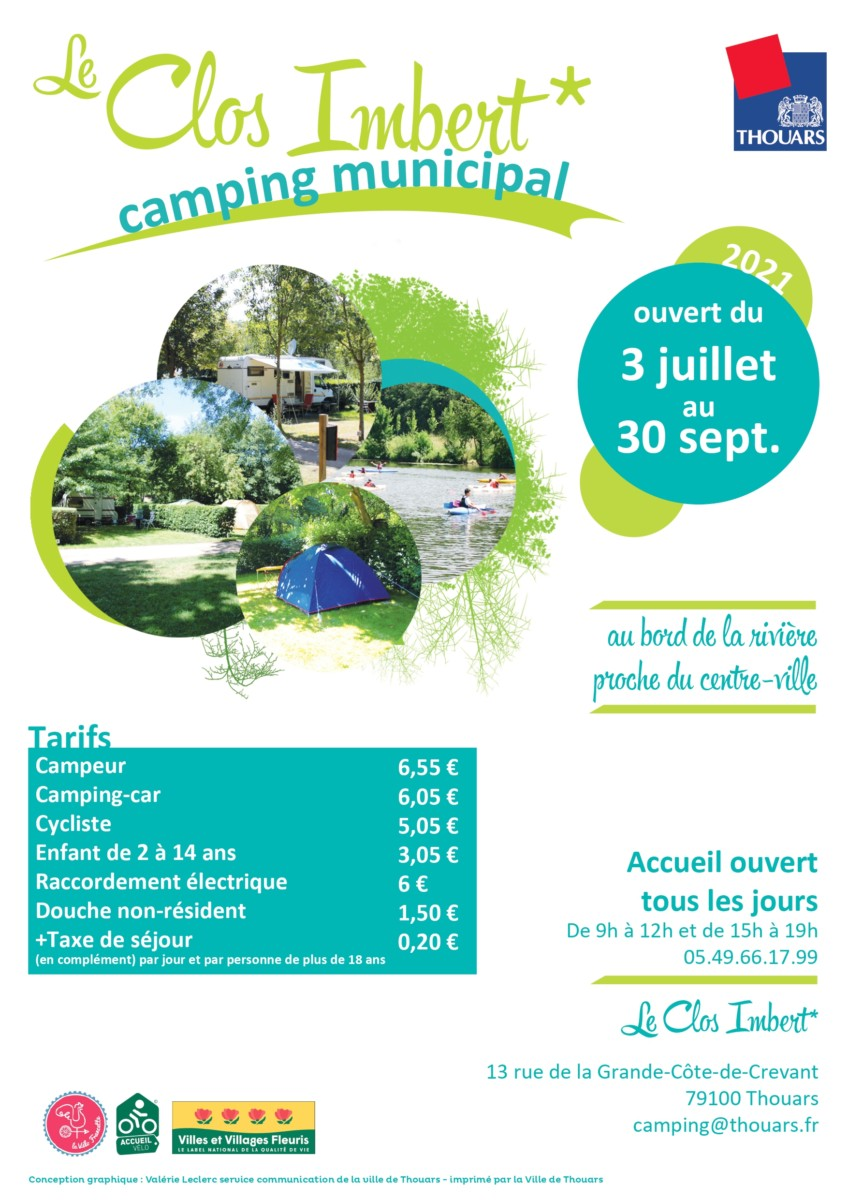Le camping municipal prolonge sa saison jusqu'au 30 septembre