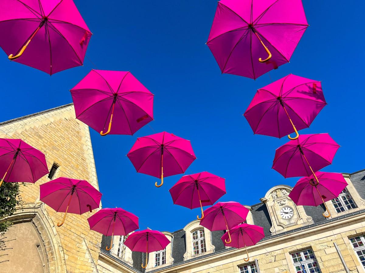 Octobre rose à Thouars